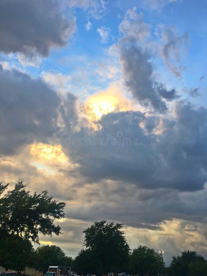 Heaven's-Himmel lizenzfreies stockbild