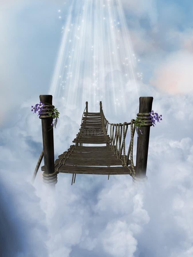 Heaven royalty free illustration