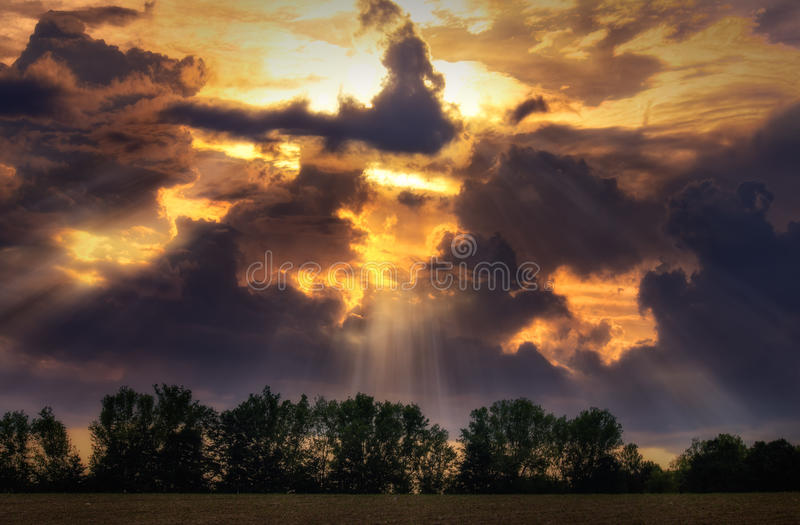 Heaven Above Thee royalty free stock photo