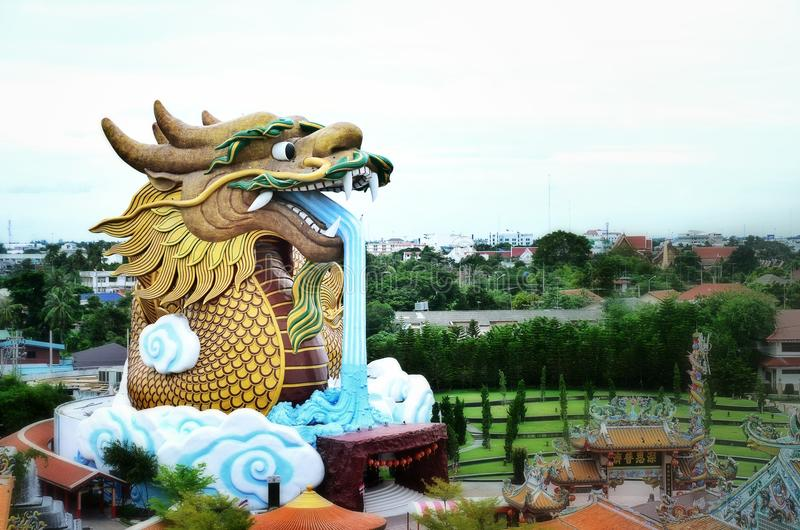 Heaven dragon royalty free stock photos