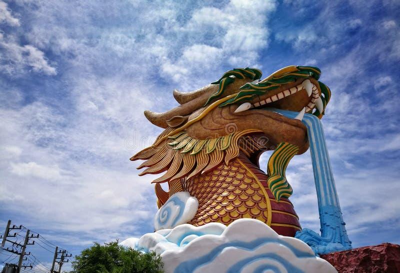 heaven Dragon stock image