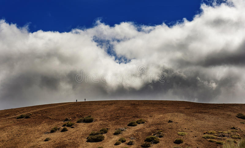 Between heaven and earth royalty free stock photo