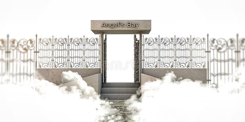 Heaven gate stock illustration