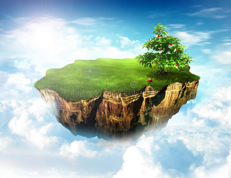 Download Heaven Land Royalty Free Stock Images - Image: 9641499