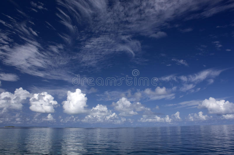 Between heaven and ocean stock images