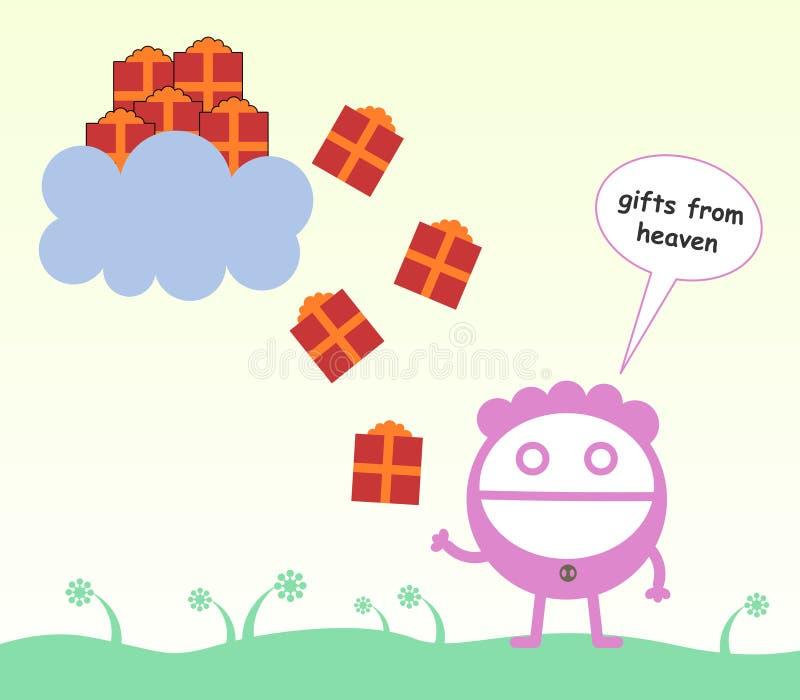 Download Heaven's gifts stock illustration. Image of illustration - 37131970