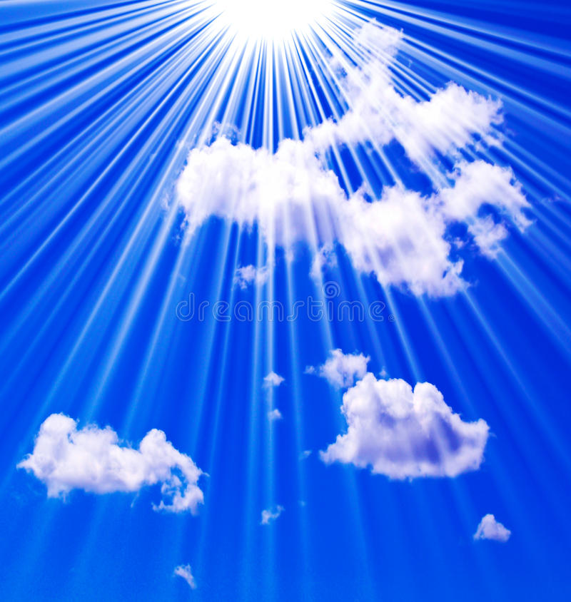 Heaven in the sky royalty free stock photos