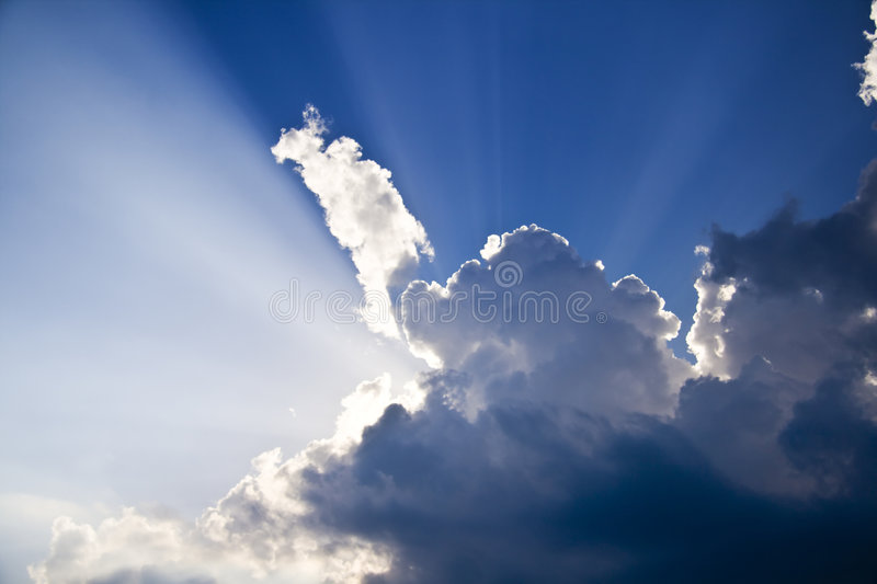 Heaven sky royalty free stock image