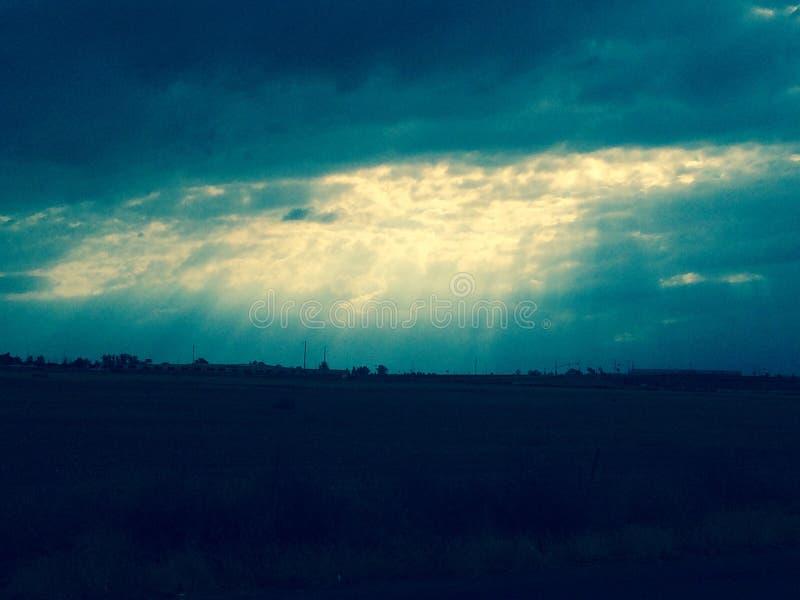 Heaven sky stock photo