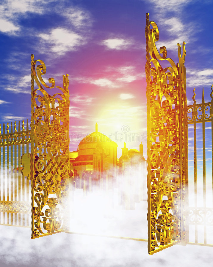Free Heaven_gate Stock Image - 6295771