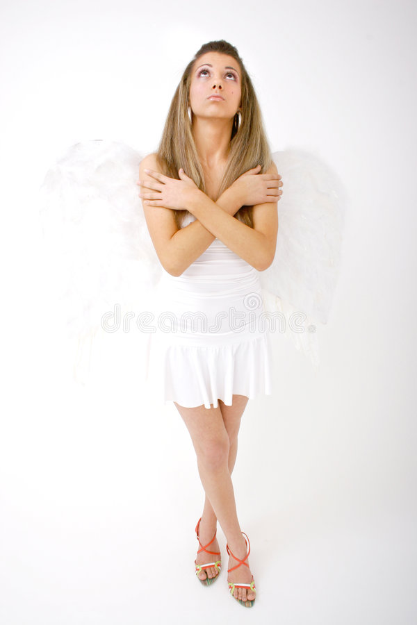 Download Heavenly Angel stock photo. Image of wings, beautiful - 1420258