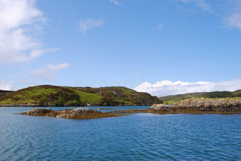 Download Heavenly coast stock photo. Image of coasts, foggy, green - 12521628