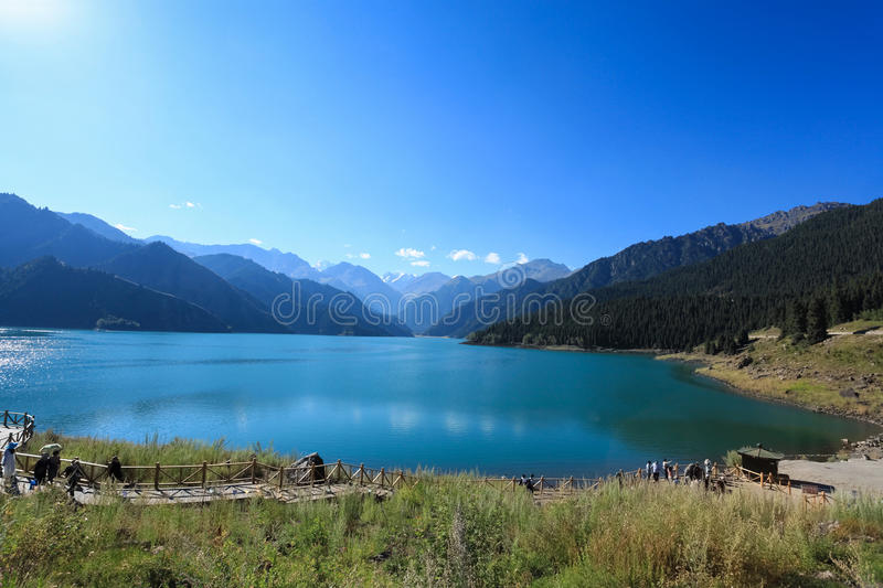 Download The Heavenly Lake Stock Images - Image: 26269894