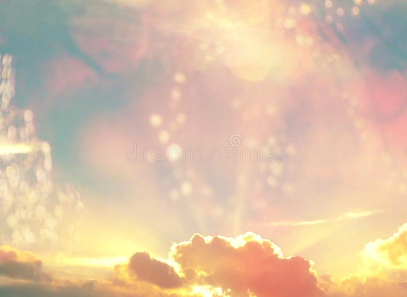 Heavenly Rays royalty free stock photo