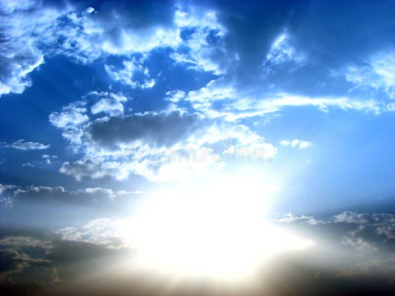 heavenly skies arkivbild