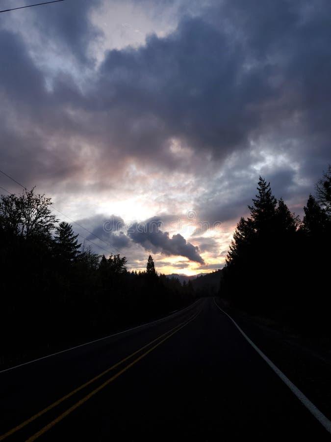 Heavenly sky arkivfoto