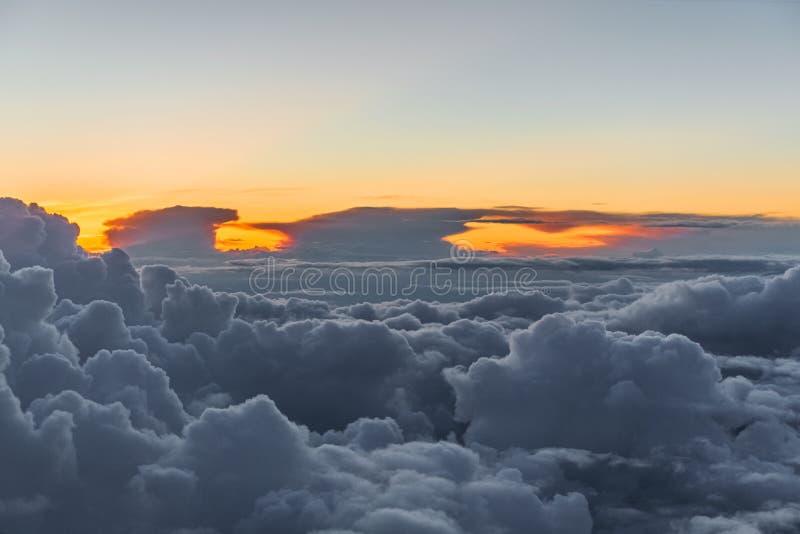Heavenly Sky royaltyfria bilder