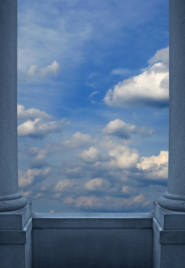 Heavenly View stock illustration