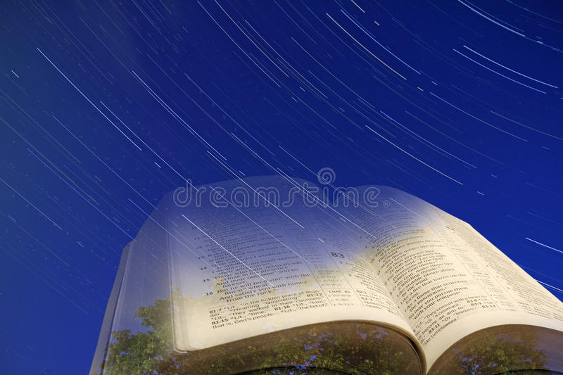 The heavens declare the glory of god royalty free stock photo