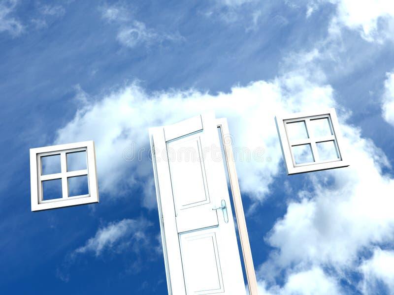 Heavens door stock photos