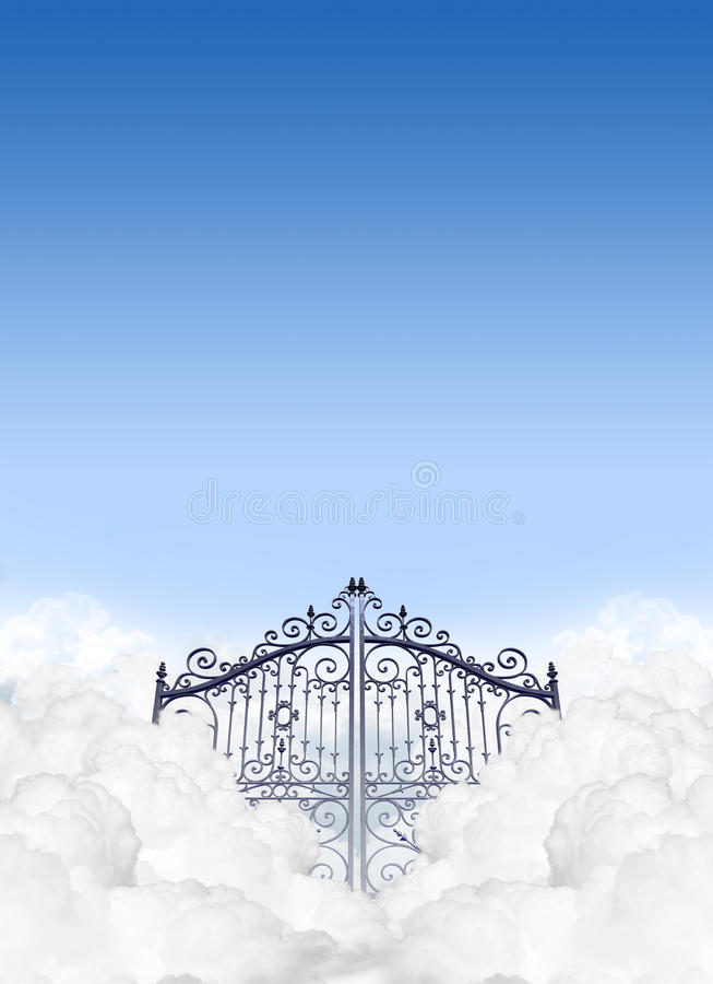 Heavens Gates In The Clouds Stock Photo Image 35887278