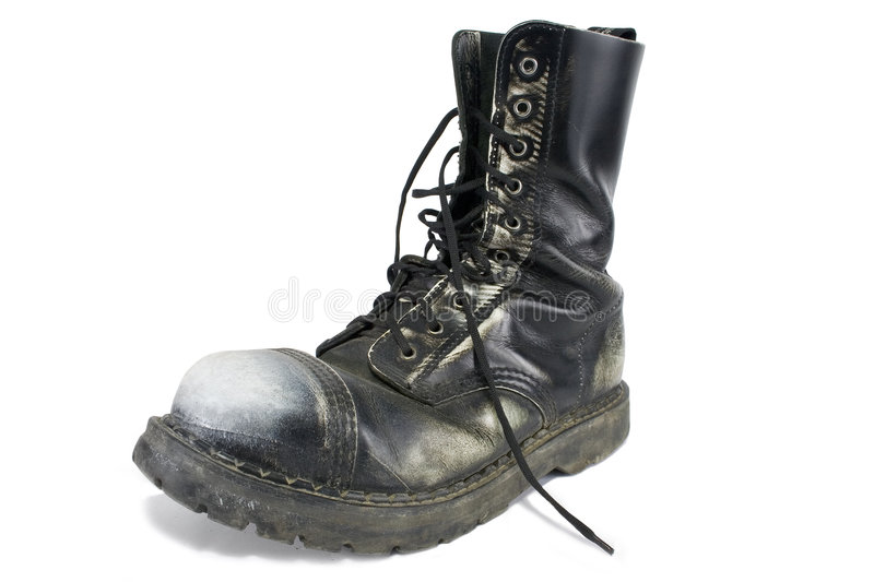 Download Heavy boot stock photo. Image of white, black, dirty, shoe - 2391038
