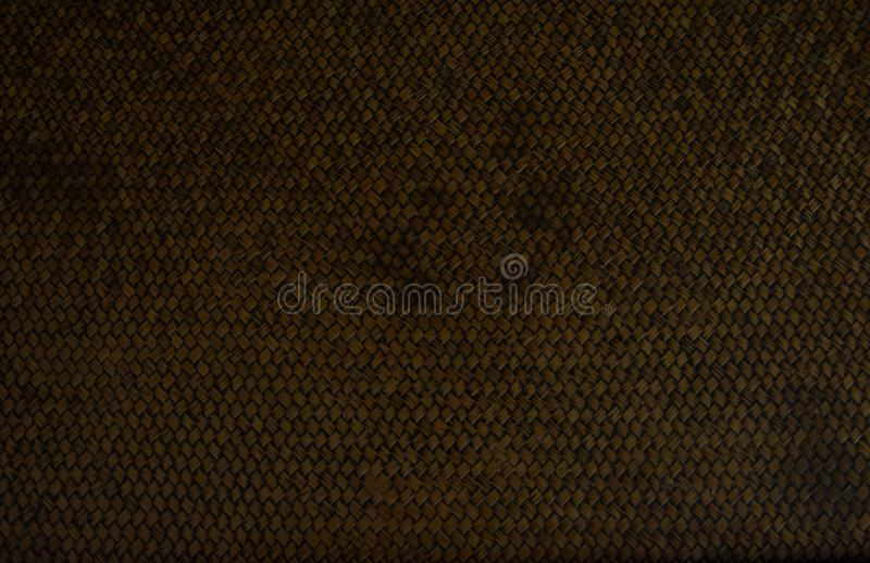 Heavy brown weave of brown wicker rings. seamless tile for large. R application royalty free stock images
