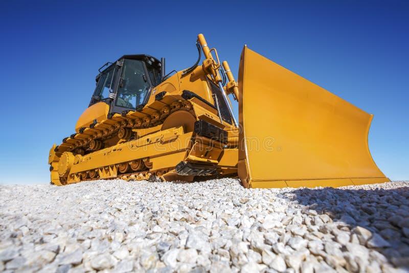 Heavy Bulldozer stock photos