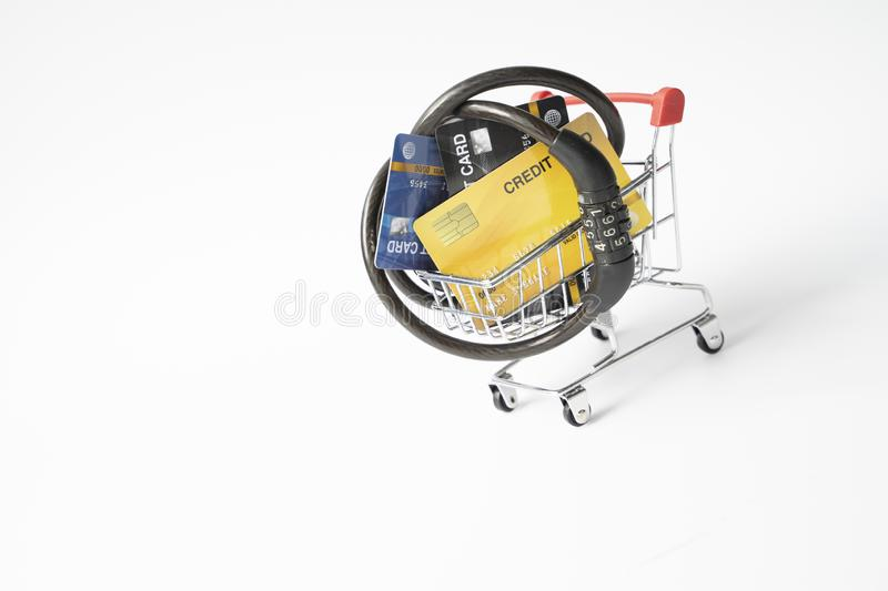 Heavy burdens from using multiple credit cards/Burden from credit card/Credit card debt/Unsecured consumer debt concept.Concept of. Debt burden from credit stock photos