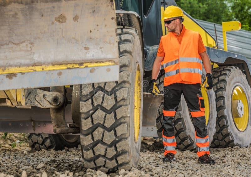 Heavy Construction Job stock photo