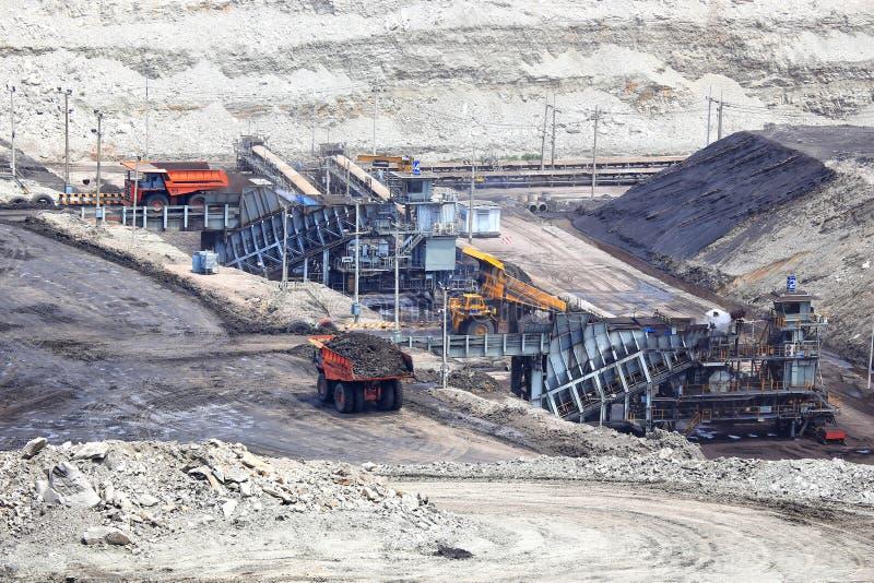 Download Heavy Construction Tipper Trucks Dump Coal Stock Image - Image: 42255157