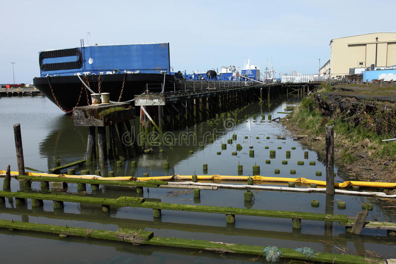 Download Heavy duty barge. stock photo. Image of growth, marine - 19402988