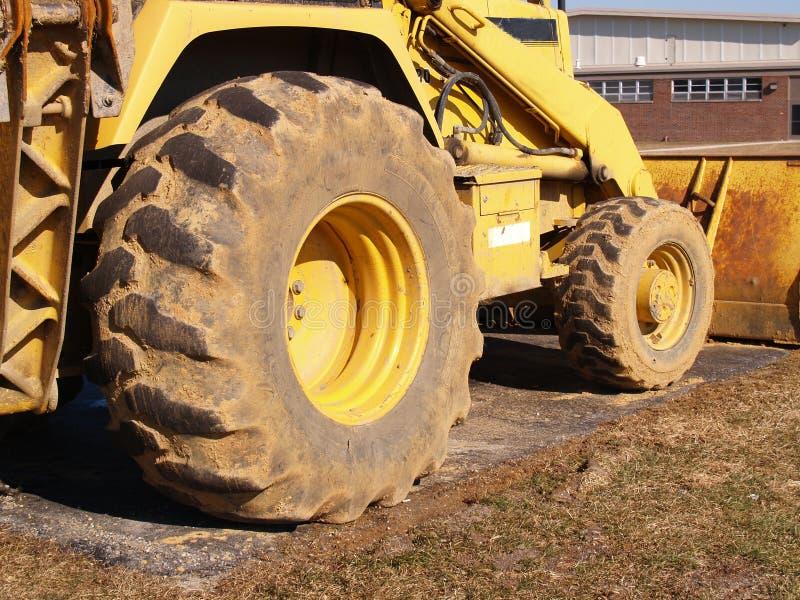 Heavy duty construction equipment stock image