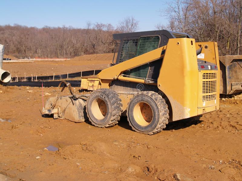 Heavy duty construction equipment stock photography