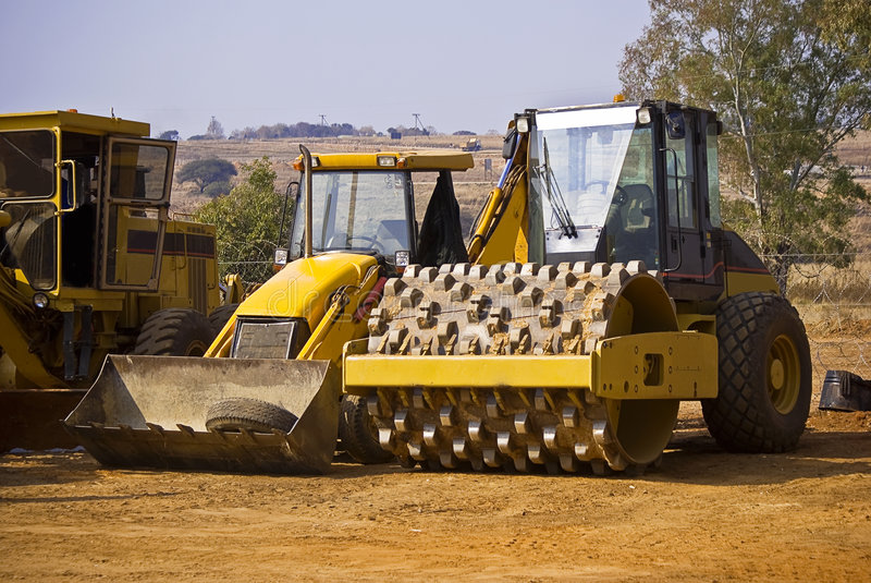 Download Heavy Duty Construction Equipment Stock Image - Image of caterpillar, mining: 5951123