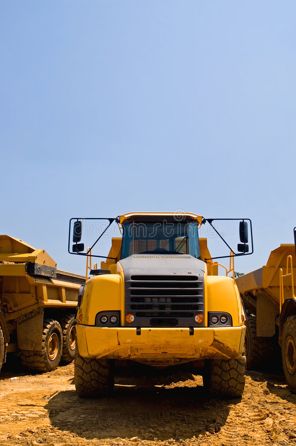 Download Heavy Duty Construction Truck Stock Image - Image: 3203033