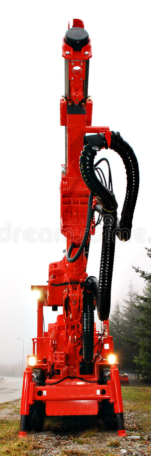 Download Heavy duty mine drill stock image. Image of digging, duty - 3816417