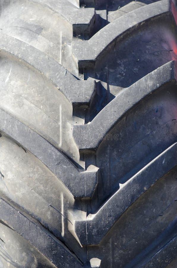 Heavy Duty Tire Tread Stock Photo