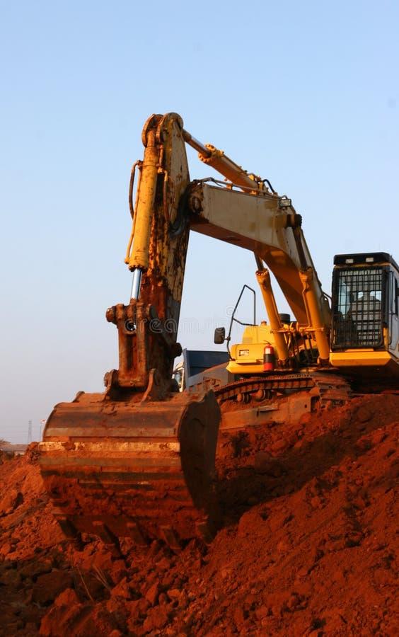Heavy equipment stock image