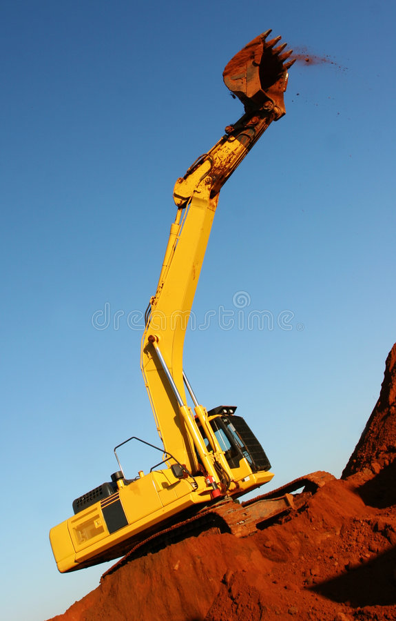 Heavy equipment stock images
