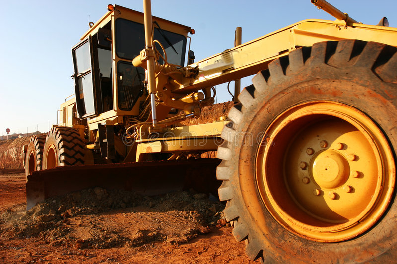 Heavy equipment stock photos