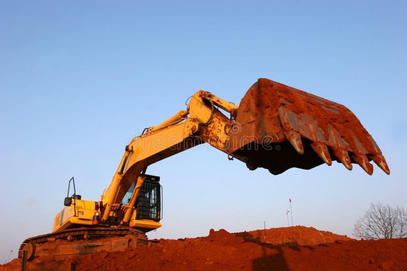 Heavy equipment royalty free stock photo