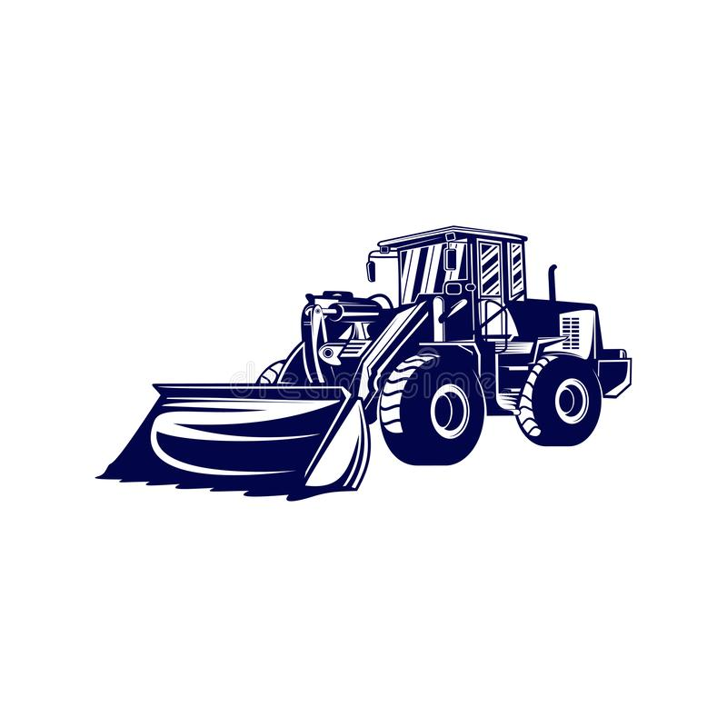 Free Heavy Equipment Logo Design Vector. Heavy Equipment Logo Template. Illustration Royalty Free Stock Photography - 155638887