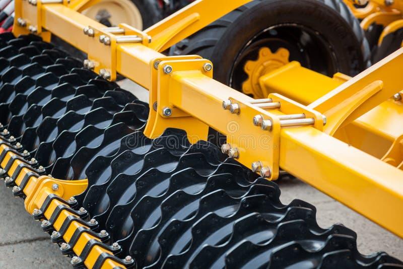 Heavy farming equipment royalty free stock photos