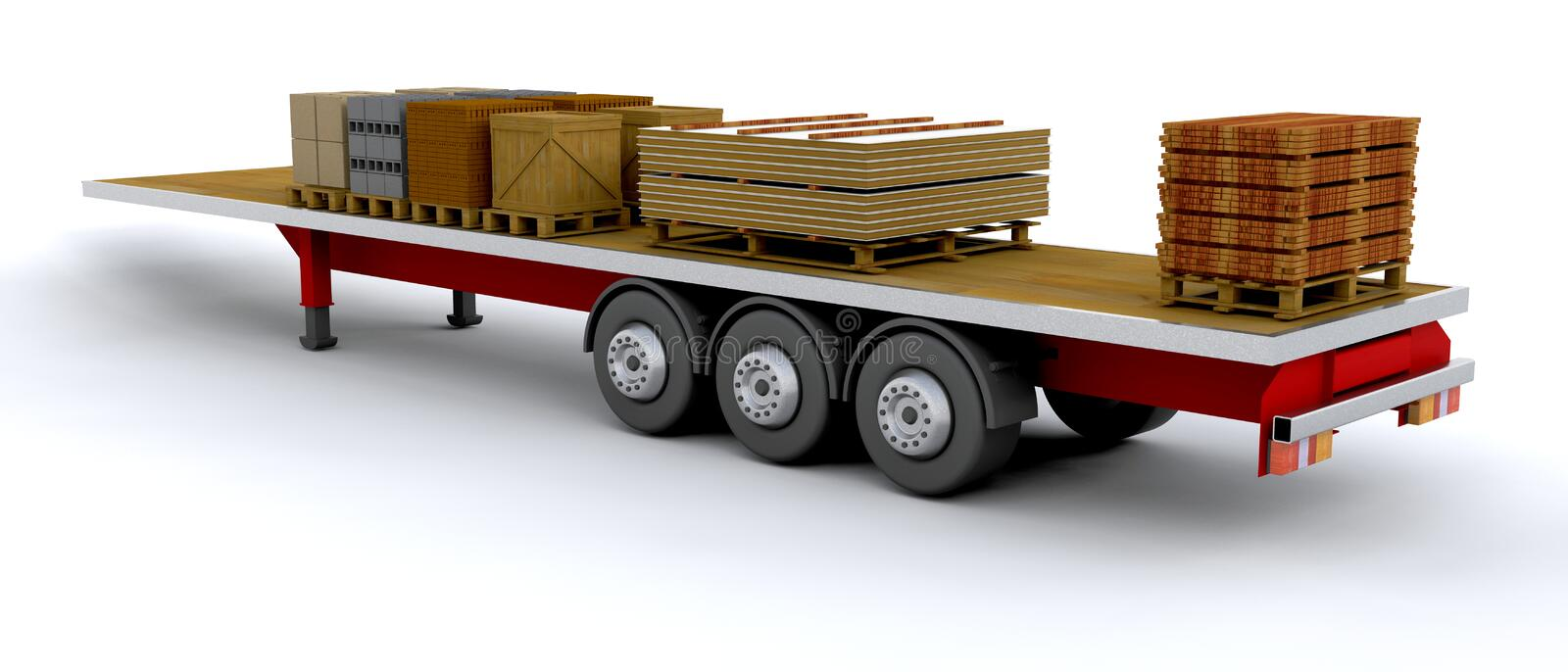 Download Heavy goods vehicle stock illustration. Image of object - 8056679