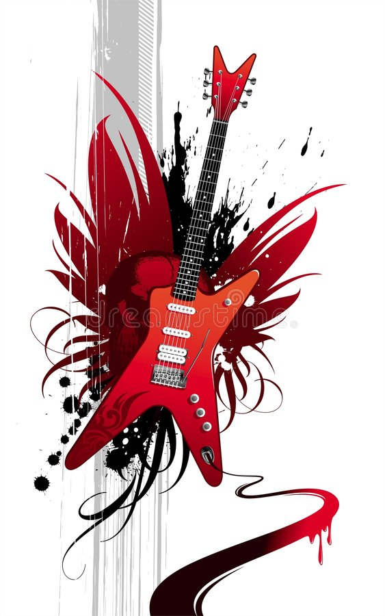 Download Heavy Guitar Royalty Free Stock Images - Image: 6311789
