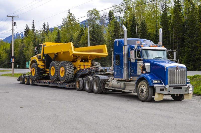Heavy hauling royalty free stock photo