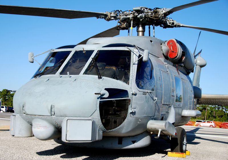 Heavy helicopter royalty free stock photography