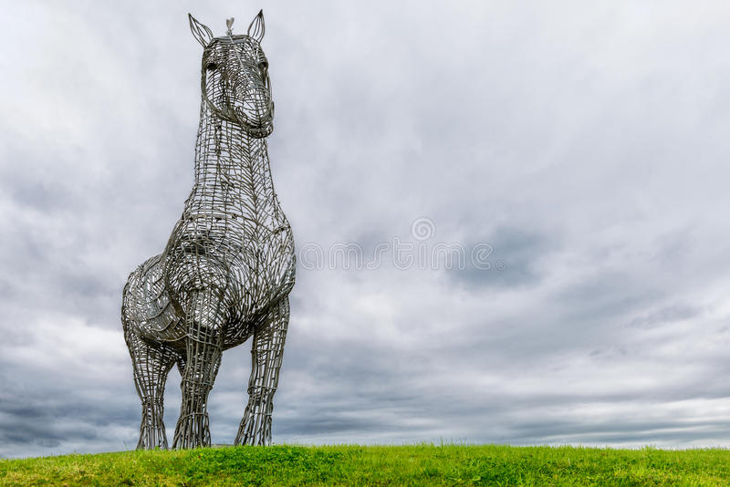 Download The Heavy Horse, Glasgow, Scotland Stock Image - Image of galvanised, clydesdale: 33765921