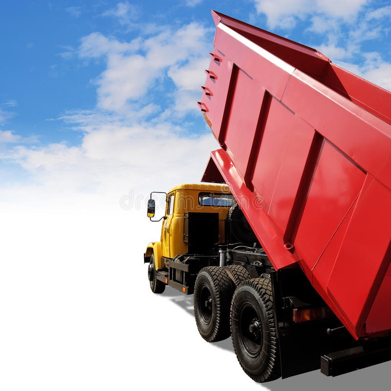 Download Heavy industrial tipper stock photo. Image of clipping - 10284918